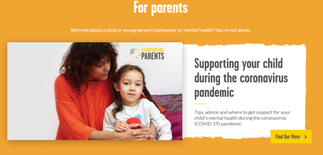 Children's Mental Health Week https://youngminds.org.uk/find-help/for-parents/