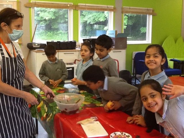 Year 2's Poisonous Apples